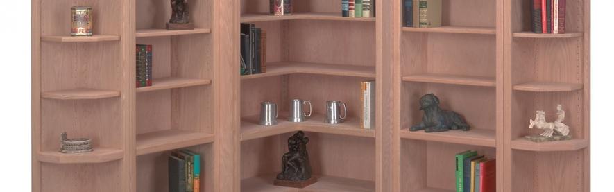 Corner Bookcases
