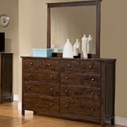 Real wood dressers, 10 drawer dresser, bedroom dressers